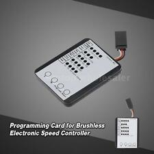 NEW Programming Card for RC Car ESC Brushless Electronic Speed Controller ZK4T