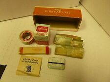 Rexall Home and Auto First-Aid Kit Very Old Vintage Kit Great Condition
