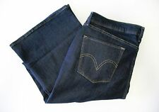 Levi's Womens 512 Perfectly Slimming Bootcut Jeans Indigo Rinse Sz 16S/33 - NWT