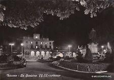 # NOVARA: LA STAZIONE FF.SS. - notturno  1953
