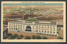 1945 PPC* MANITOBA CANADA WINNIPEG STATION