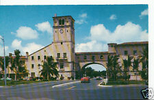 America Postcard - Douglas Entrance To Coral Gables, Florida     BH643