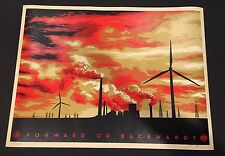 """""""THE MOUNTAIN"""" - SHEPARD FAIREY - *SIGNED & NUMBERED* #/450 CHEAP! SOLD OUT!RARE"""
