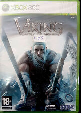 VIKING:BATTLE FOR ASGARD  Microsoft Xbox 360 2008 -PAL-