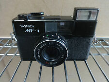 RARE VINTAGE YASHICA mf-1 COMPATTO CON YASHICA LENS 38mm f/2.8