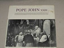Pope John XXIII Excerpts from Sounds of the Vatican 1963 Mercury RM200 Sealed LP