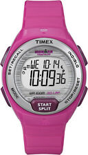 Timex Women's Digital Ironman 30-Lap Midsize Pink Strap Running Watch