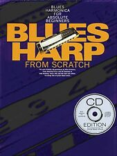 Blues Harp from Scratch Blues Harmonica for Absolute Beginners Book CD 014004685