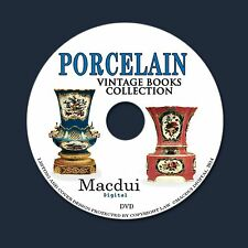 Porcelain - Vintage Books Collection 76 PDF E-Books on 1 DVD Enamel,Ceramic,Art