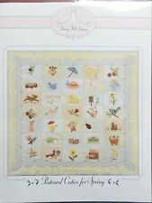 POSTCARD CUTIES FOR SPRING QUILT PATTERN, From Bunny Hill Designs NEW