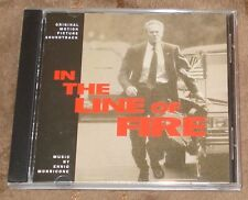 IN THE LINE OF FIRE (Ennio Morricone) rare original mint cd (1993) OUT-OF-PRINT!