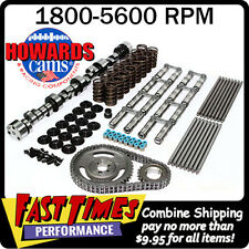 "HOWARD'S BBC Chevy Retro-Fit Hyd Roller 278/288 595""/601"" 112° Cam Camshaft Kit"