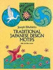 Traditional Japanese Design Motifs (Dover Pictorial Archive)