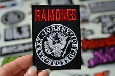 RAMONES Eagle Johnny Cloth Badge Metal Music Band Street Adult Iron On Patch