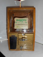 Distributeur de bonbons 5 cents US vending machine 5 cents victor 1940's gumball