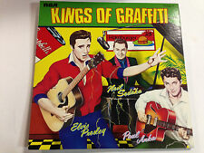 Elvis Presley,Paul Anka,Neil Sedaka - Kings Of Graffiti EXc+  Import 12`` LP