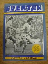 01/03/1977 Everton v Arsenal  (No Apparent Faults)