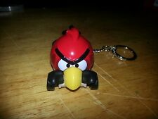 ANGRY BIRDS ~RED BIRD~CUSTOM ITEM ONE OF A KIND KEYCHAIN~KEY FOB! LIMITED