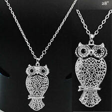 NECKLACE OWL BIRD HOOT NOCTURNAL NATURE COLLECTIBLE CUTE NEW FASHION JEWELRY 8-D