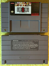 Live A Live (English) SNES Super Nintendo