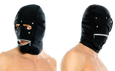 Sexy Fetish bdsm strict bondage Role Play Costume Hood Mask