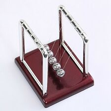 Newton's Cradle Steel Balance Balls Desk Physics Science Pendulum Desk Toy hots