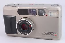 【AB- Exc】 CONTAX T2 Titanium 35mm Point & Shoot Film Camera From JAPAN #2218