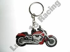 Harley Davidson V-Rod rubber key ring motor bike cycle gift keyring chain soft