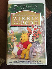 The Many Adventures of Winnie the Pooh (VHS, 1996)