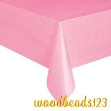 OBLONG TABLECOVER Plastic Table Cloth Colour BBQ Catering Events Party Tableware
