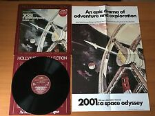 "2001 A SPACE ODYSSEY FILM SOUNDTRACK WITH POSTER : NEAR MINT 12"" VINYL LP -70275"