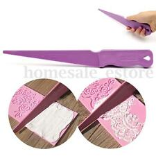 Plastic Cake Cutter Fondant Lace Scraper Icing Sugarcraft Paste Decorating Tool