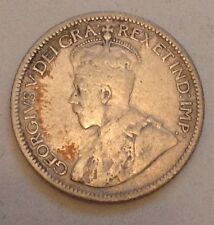 1929 Canada Silver Ten Cents 10 Cent Coin Canadian