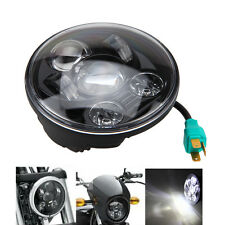 """5 3/4"""" LED Chrome Daymaker Projector Headlight For Harley Sportster XL 883 1200"""