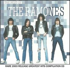 The Ramones - Very Best Greatest Hits Collection - RARE 2003 CD 80's 90's Punk