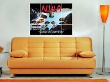 "N.W.A. 36""X32"" INCH MOSAIC WALL POSTER STRAIGHT OUTTA COMPTON EAZY E DR DRE NWA"