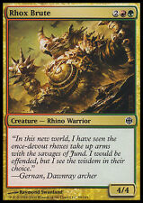 MTG 4x RHOX BRUTE - RHOX BESTIALE - ARB - MAGIC