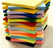50 FOGLI A5 170gsm CARD STOCK ASSORTITI Pack scegliere da 25 COLORI SCRAPBOOKING