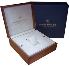 Authentic Dreyfuss & Co Wooden Watch Box