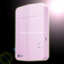 LG Pocket Photo Printer Pink PD251 for Smartphone iPhone Android iOS PoPo