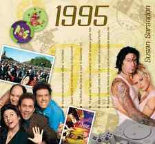 21st Birthday Gifts - 1995 Classic Years Pop CD Greetings Card - CD Card Company