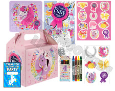 Pre Filled Pony Party Box - Horse and Ponies Girls Parties Activity Gift Bags