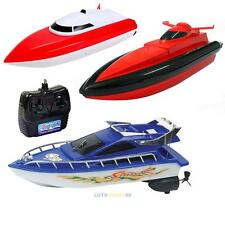 Kids Radio Remote Control RC Racing Super Mini High Speed Boat Boat Toy Gift #L