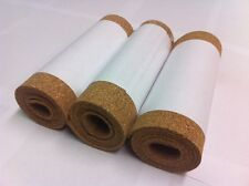CORK ROLL - 3 ROLLS - 1 Meter X 195 mm - 3 mm THICK
