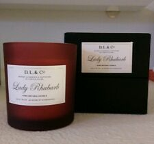 D. L. & Co Lady Rhubarb Candle 8.1 oz / 230g Brand New in Box