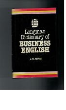 Longman  - Dictionary of Business English J. Adam - 1982