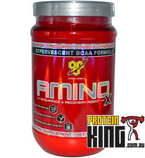 BSN AMINO X 435G 30 SERVE GRAPE BCAA AMINOS RECOVERY INTRA WORKOUT BPI BSC