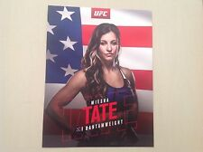 UFC CHAMPION MIESHA TATE OFFICIAL POSTER MMA SELF DEFENCE FIGHTS MCGREGOR. KTM