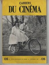 CAHIERS DU CINEMA n°135 Therese Desqueyroux RIVA Luc Moullet LABARTHE 1962