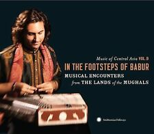 Music of Central Asia Vol 9: In the Footsteps of Babur CD Various, SHIPS FREE